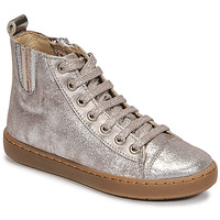 Shoes Girl Mid boots Shoo Pom PLAY JODLACE Silver