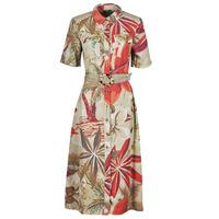 material Women Long Dresses Desigual KATE Multicolour