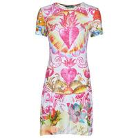 material Women Short Dresses Desigual TATTO Multicolour