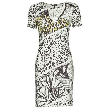 material Women Short Dresses Desigual WILD Multicolour