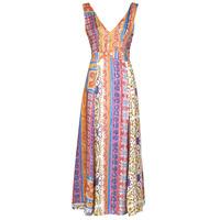 material Women Long Dresses Desigual SONIA Multicolour