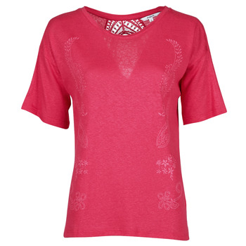 material Women short-sleeved t-shirts Desigual CLEMENTINE Red
