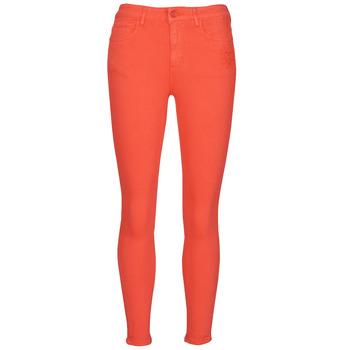 material Women 5-pocket trousers Desigual ALBA Red
