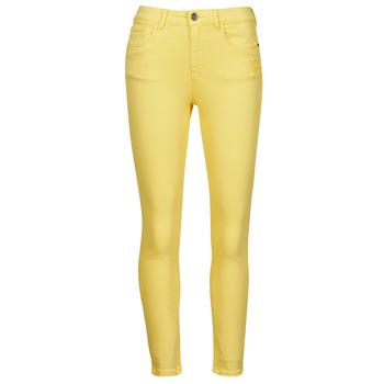 material Women 5-pocket trousers Desigual ALBA Yellow