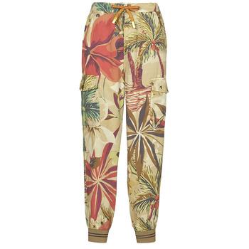 material Women Wide leg / Harem trousers Desigual TOUCHE Multicolour