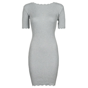 material Women Short Dresses Yurban PAULINO Grey