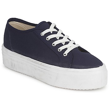 Shoes Women Low top trainers Yurban SUPERTELA Marine