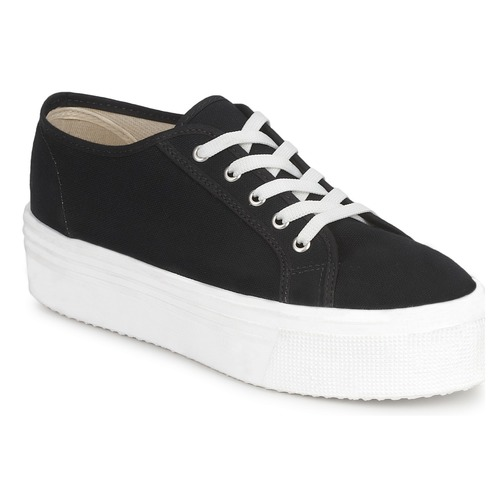 Shoes Women Low top trainers Yurban SUPERTELA Black