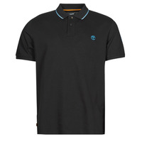 material Men short-sleeved polo shirts Timberland BRAND CARRIER POLO Black