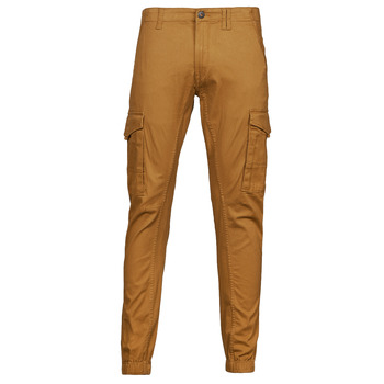 material Men Cargo trousers  Jack & Jones JJIPAUL Camel
