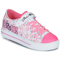 Shoes Children Wheeled shoes Heelys SNAZZY White / Pink / Lavender