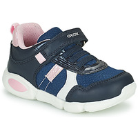Shoes Boy Low top trainers Geox B PILLOW Blue