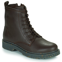 Shoes Women Mid boots Dream in Green PARBOL Brown