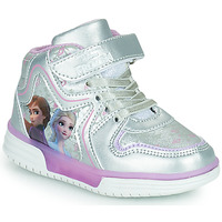 Shoes Girl High top trainers Disney DISNEY FROZEN Silver