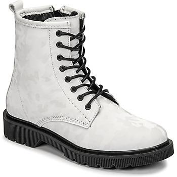 Shoes Women Mid boots Fericelli PARMA White