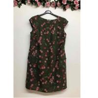 material Women Short Dresses Fashion brands CERISIER-1533-KAKI Kaki