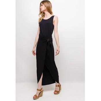 material Women Long Dresses Fashion brands ERMD-1682-NEW-NOIR Black