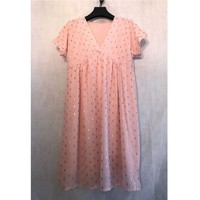 material Women Short Dresses Fashion brands BY80-ROSE Pink