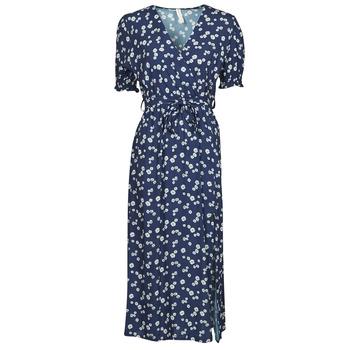material Women Short Dresses Fashion brands 11118-BLEU Marine