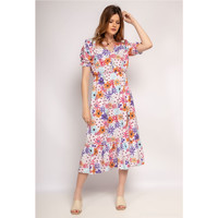 material Women Long Dresses Fashion brands A4502-ROSE White