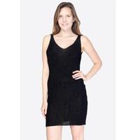 material Women Short Dresses Fashion brands SND-NOIR Black