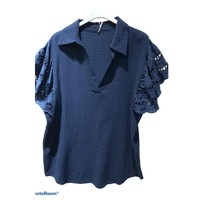 material Women Blouses Fashion brands 310311-NAVY Marine