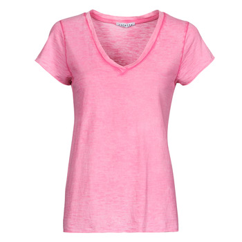material Women Blouses Fashion brands 029-COEUR-FUCHSIA Fuschia