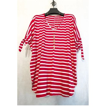 material Women Blouses Fashion brands BY31R-RED Red