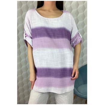 material Women Blouses Fashion brands 156485V-LILAC Lilac