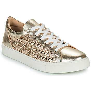 Shoes Women Low top trainers Cosmo Paris WELLY Gold