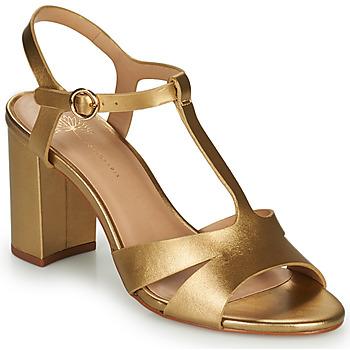 Shoes Women Sandals Cosmo Paris ZOUM Gold