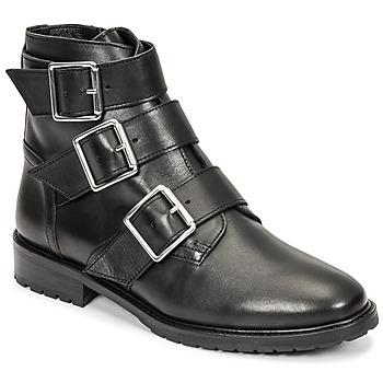 Shoes Women Mid boots Cosmo Paris VOLLINI Black