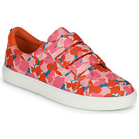 Shoes Women Low top trainers Cosmo Paris HAJIA Pink / Flower