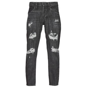 material Men slim jeans Jack & Jones JJIFRANK JJLEEN Black