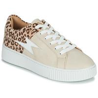 Shoes Women Low top trainers Vanessa Wu VENDAVEL Beige / Leopard