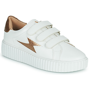 Shoes Women Low top trainers Vanessa Wu BARBER White