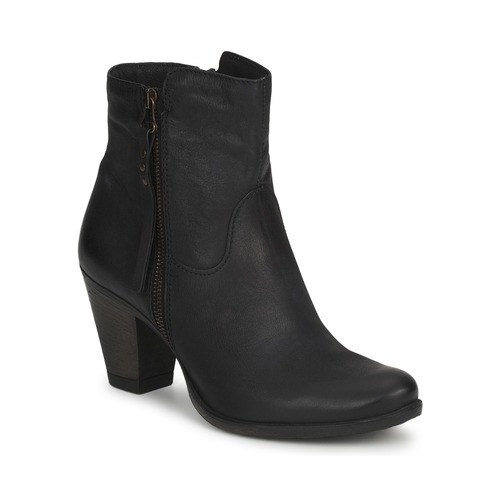Ankle boots / Boots Dream in Green HAYDAR Black 350x350