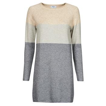 material Women Short Dresses Betty London PIMPA Pink / Grey