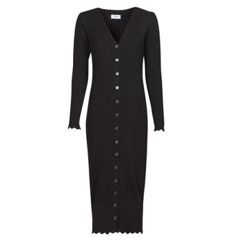 material Women Long Dresses Betty London PIKKI Black