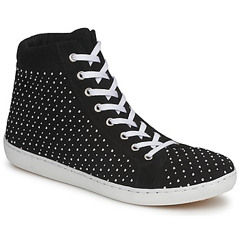 Shoes Women High top trainers Yurban AERTUNIS Black