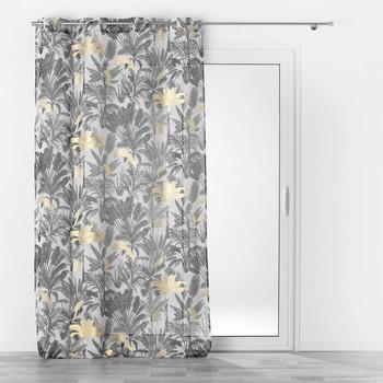 Home Sheer curtains Douceur d intérieur KARABA White