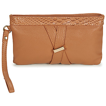 Bags Women Pouches / Clutches Moony Mood  Brown