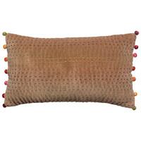 Home Cushions covers Vivaraise GASTOUNET Camel