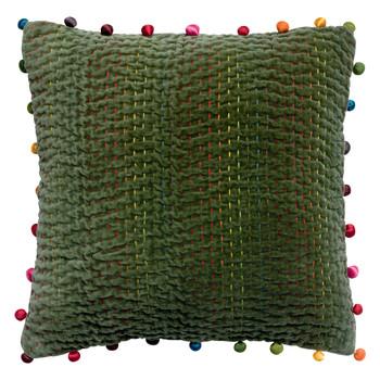 Home Cushions covers Vivaraise GASTOUNET Sage