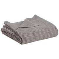 Home Blankets, throws Vivaraise MAIA Grey / Storm