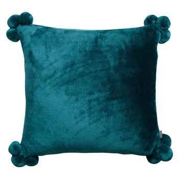 Home Cushions covers Vivaraise TENDER POMPONS Blue