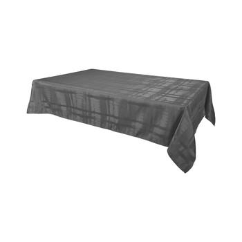 Home Napkin, table cloth, place mats Habitable FABIOLA - ANTHRACITE - 145X300 CM Anthracite