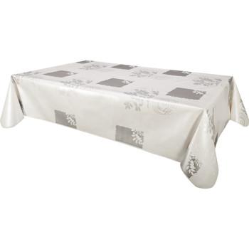 Home Napkin, table cloth, place mats Habitable VERA - BLANC - 140X200 CM White