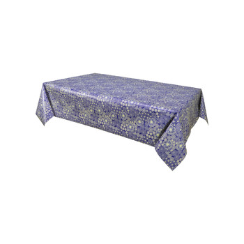 Home Napkin, table cloth, place mats Habitable DALIA - BLEU - 140X200 CM Blue