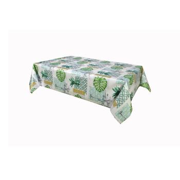 Home Napkin, table cloth, place mats Habitable PALMIER - VERT - 140X200 CM Green